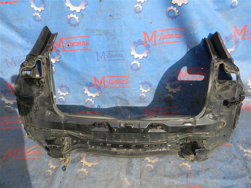 Задняя панель кузова Toyota Auris NZE151 1NZ-FE 2008 задняя