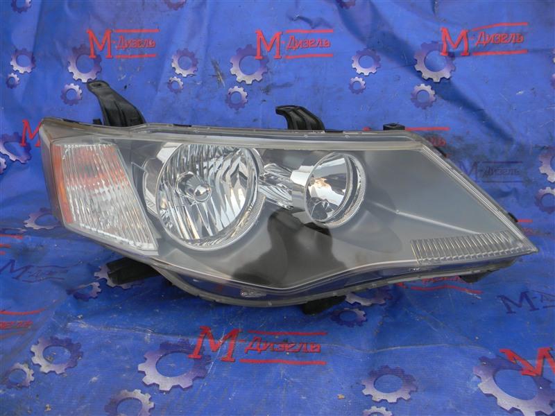 Фара Mitsubishi Outlander Xl CW5W 4B12 2005 передняя правая
