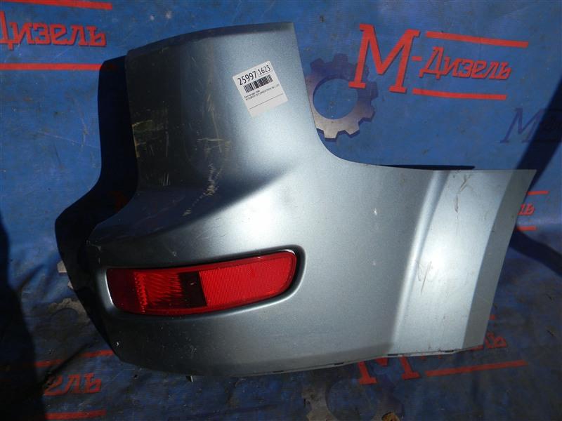 Бампер Mitsubishi Outlander Xl CW5W 4B12 2005 задний правый