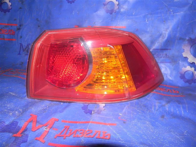 Стоп-сигнал Mitsubishi Lancer X CY4A 4B11 2008 задний правый