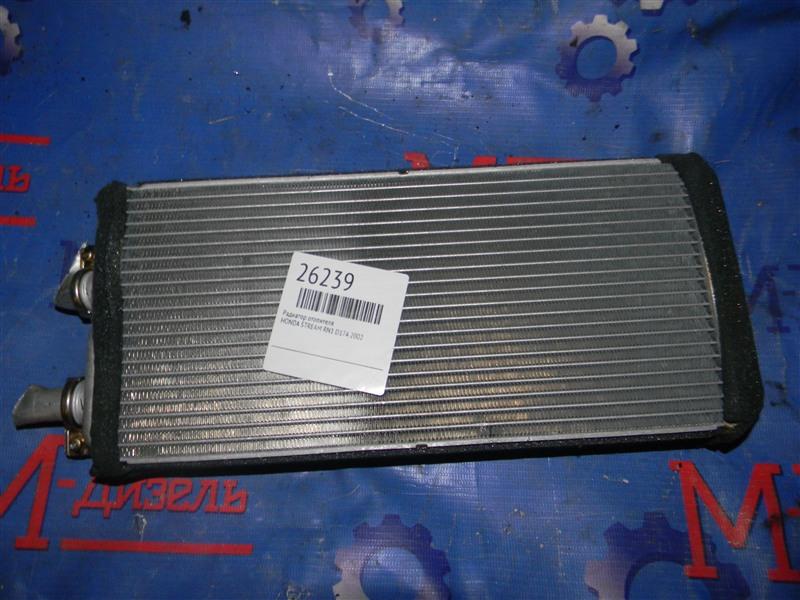 Радиатор отопителя Honda Stream RN1 D17A 2002