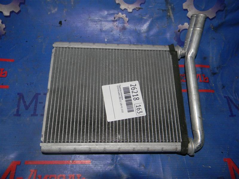 Радиатор отопителя Toyota Corolla ZRE151L 1ZR-FE 2008
