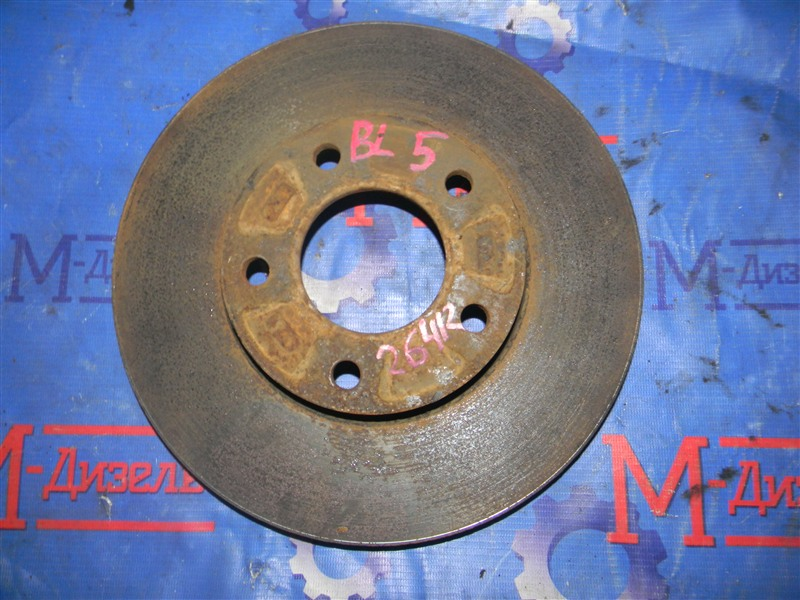 Диск тормозной Mazda Axela BLEFW LF-VDS 2010 передний правый
