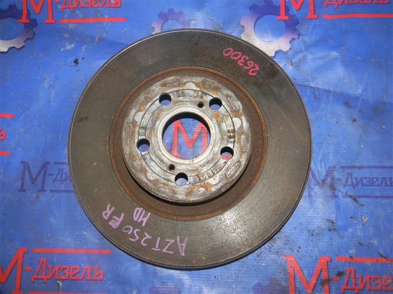 Диск тормозной Toyota Avensis AZT250 1AZ-FSE 2008 передний правый