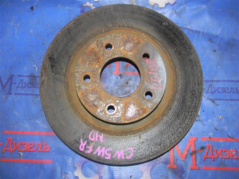 Диск тормозной Mitsubishi Outlander Xl CW5W 4B12 2005 передний правый