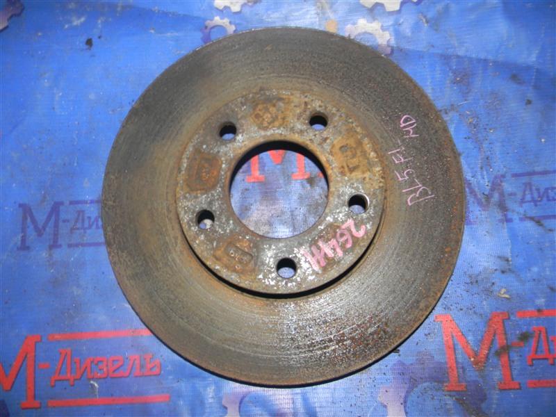 Диск тормозной Mazda Axela BLEFW LF-VDS 2010 передний левый