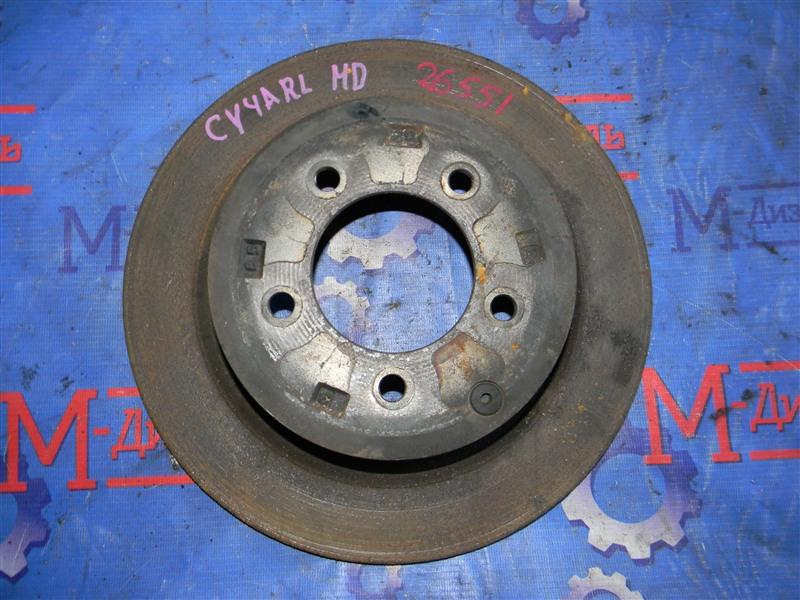 Диск тормозной Mitsubishi Lancer X CY4A 4B11 2008 задний левый