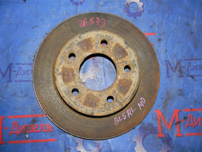 Диск тормозной Mazda Axela BLEFW LF-VDS 2010 задний левый