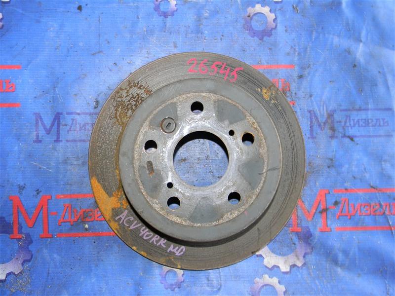 Диск тормозной Toyota Camry ACV40 2AZ-FE 2006 задний правый