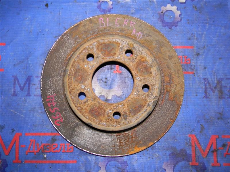Диск тормозной Mazda Axela BLEFW LF-VDS 2010 задний правый