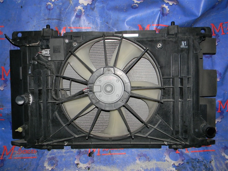 Радиатор двигателя Toyota Auris NZE151 1NZ-FE 2008