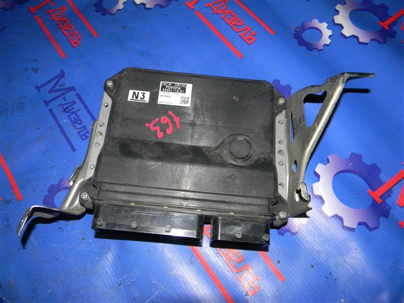 Блок управления двс Toyota Auris ZRE152 2ZR-FAE 2010
