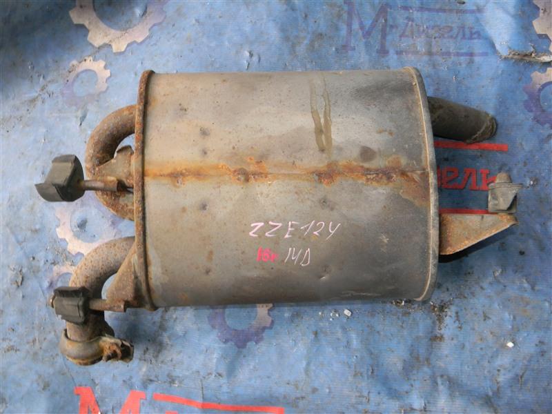 Глушитель Toyota Corolla Fielder ZZE124 1ZZ-FE 2002