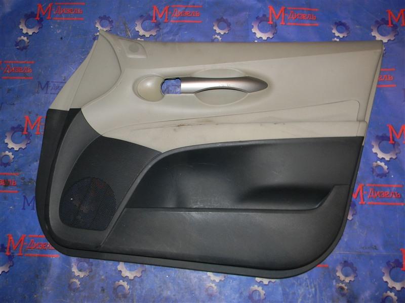 Обшивка двери Toyota Auris NZE151 1NZ-FE 2008 передняя правая