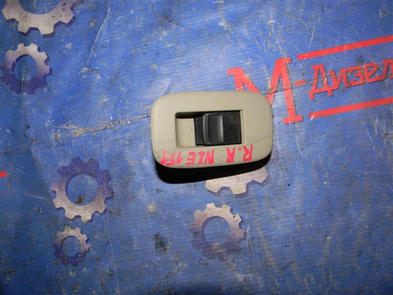 Кнопка стеклоподъемника Toyota Auris NZE151 1NZ-FE 2008 задняя правая