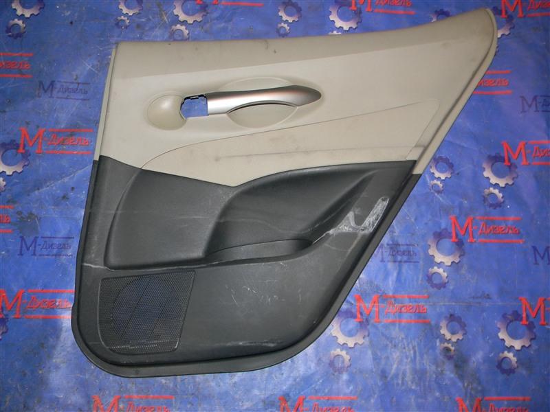 Обшивка двери Toyota Auris NZE151 1NZ-FE 2008 задняя правая
