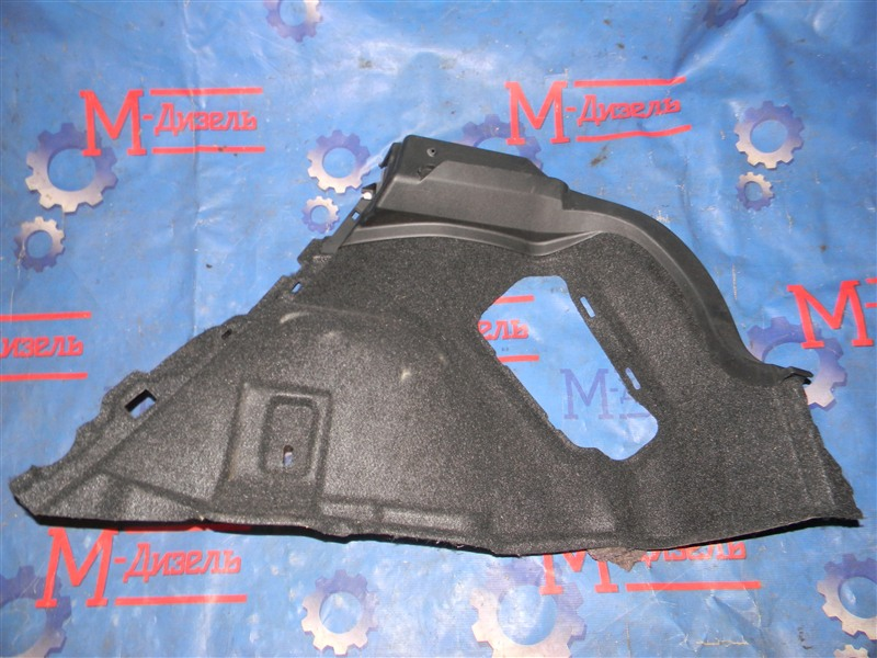 Обшивка багажника Toyota Auris NZE151 1NZ-FE 2008 задняя правая