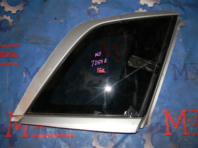Стекло собачника Suzuki Grand Vitara TD54W J20A 2006 заднее правое