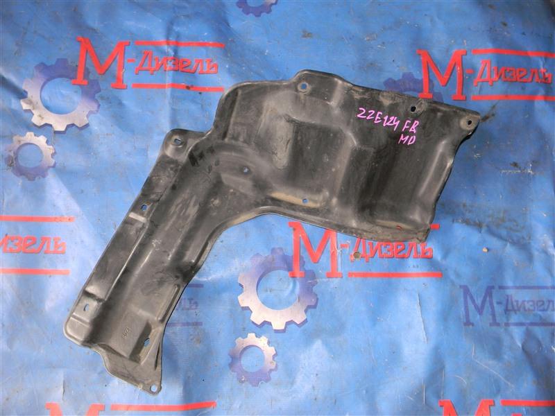 Защита двигателя Toyota Corolla Fielder ZZE124 1ZZ-FE 2002 передняя правая