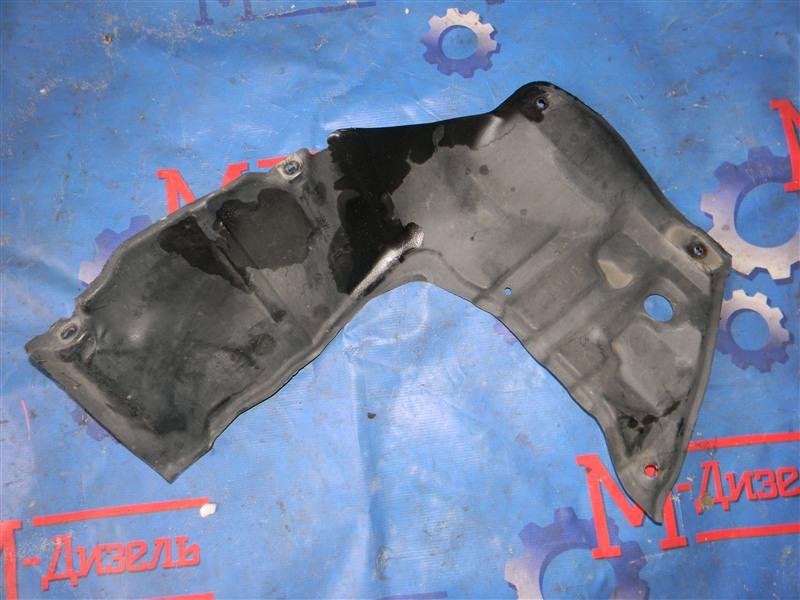 Защита двигателя Toyota Corolla NZE121 1NZ-FE 2002 передняя правая