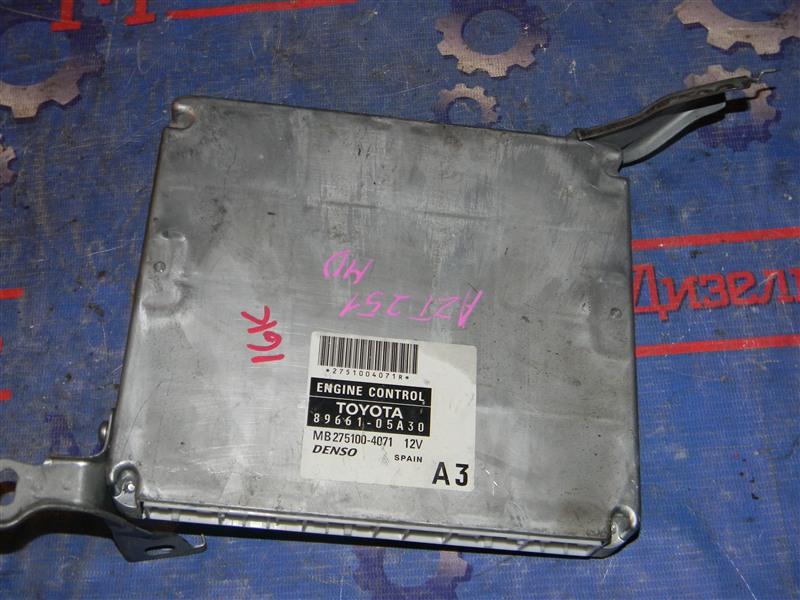 Блок управления двс Toyota Avensis AZT251 2AZ-FSE 2007