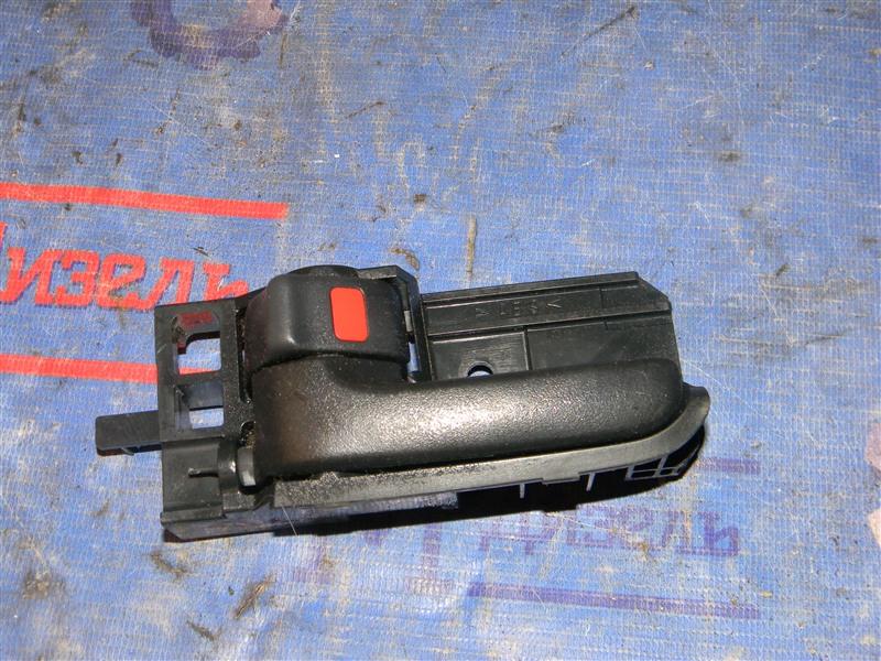 Ручка двери внутренняя Toyota Corolla NZE121 1NZ-FE 2001 задняя левая