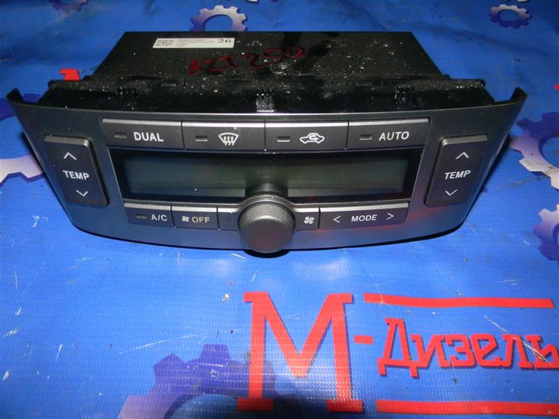 Блок управления климат-контролем Toyota Avensis AZT250 1AZ-FSE 2008