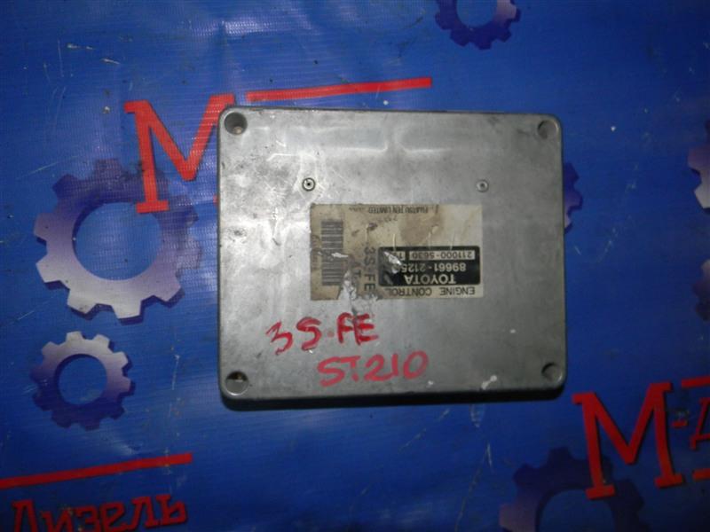 Блок управления двс Toyota Caldina ST210G 3S-FE 2001