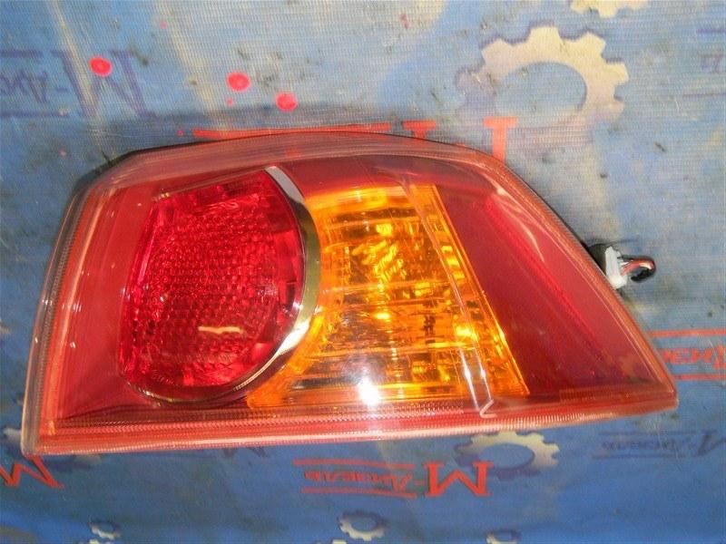 Стоп-сигнал Mitsubishi Lancer X CY4A 4B11 2007 задний правый