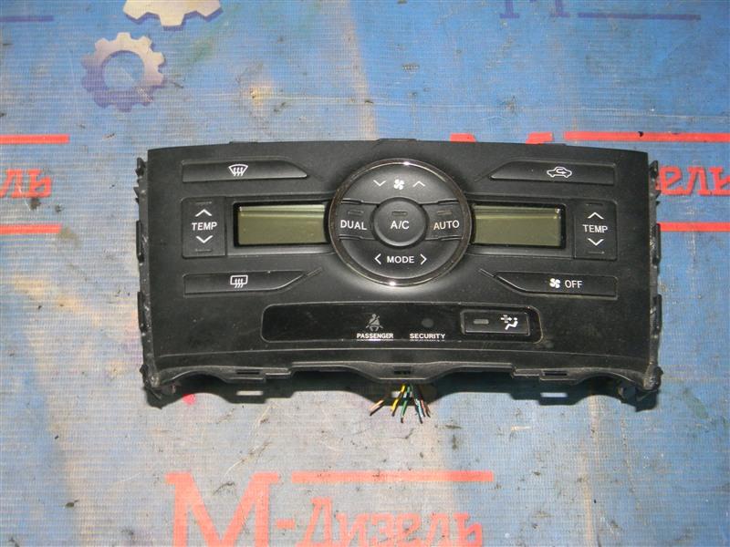 Блок управления климат-контролем Toyota Auris ZRE152 2ZR-FAE 2010