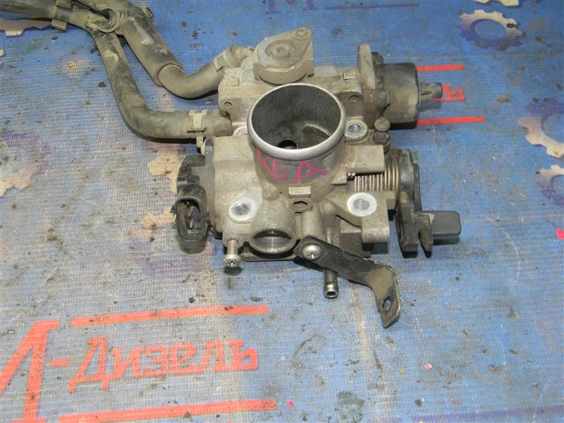 Заслонка дроссельная Suzuki Alto HA25V K6A