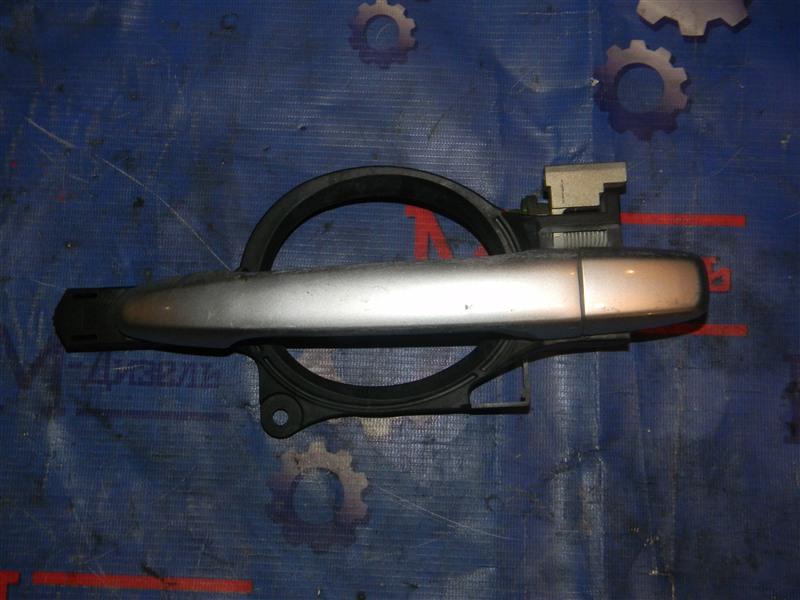 Ручка двери внешняя Mitsubishi Outlander Xl CW5W 4B12 2005 задняя левая