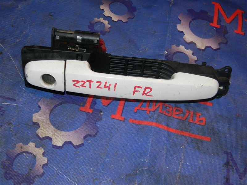 Ручка двери внешняя Toyota Allion ZZT241 1ZZ-FE 2005 передняя правая