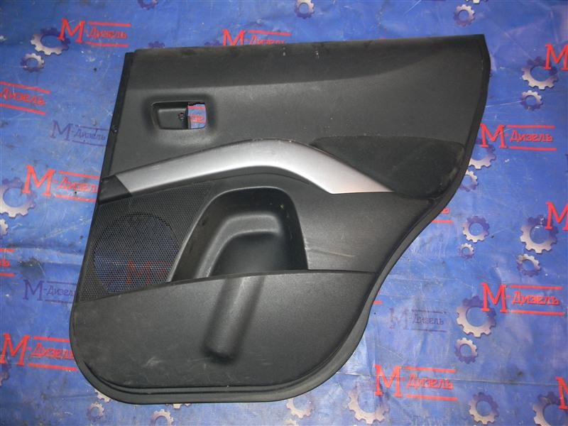 Обшивка двери Mitsubishi Outlander Xl CW5W 4B12 2005 задняя правая