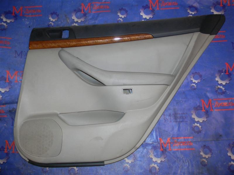 Обшивка двери Toyota Avensis AZT251 2AZ-FSE 2007 задняя правая