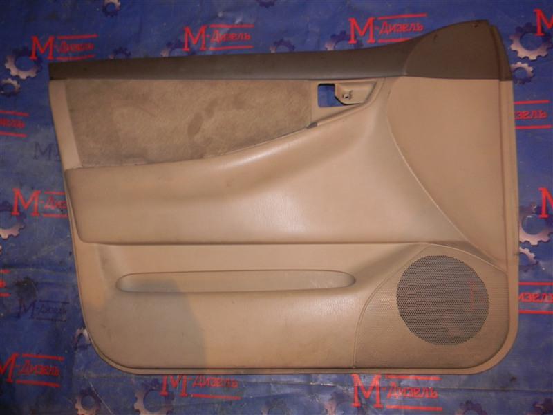 Обшивка двери Toyota Corolla NZE121 1NZ-FE 2002 передняя левая
