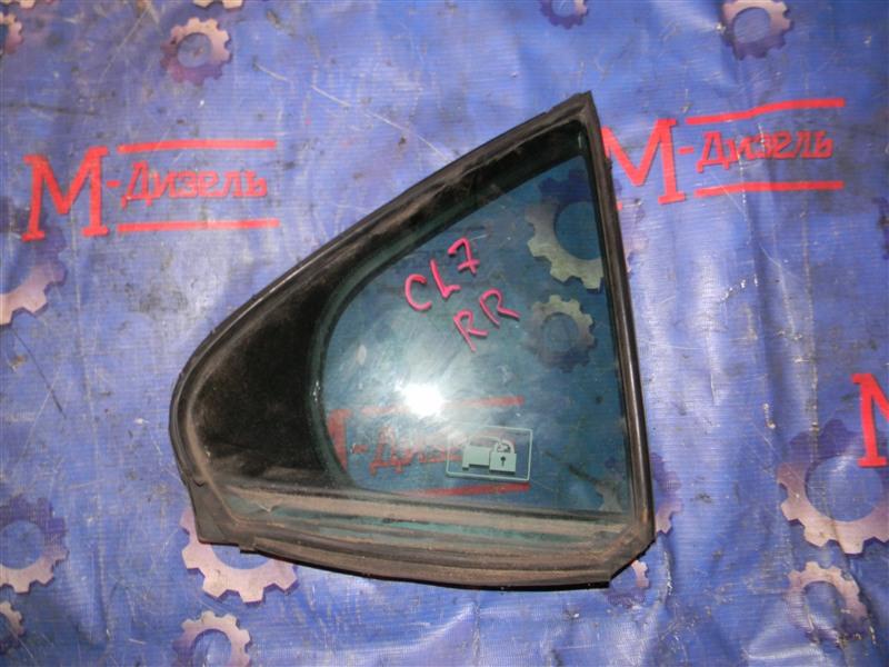 Стекло боковое Honda Accord CL7 K20A 2004 заднее правое