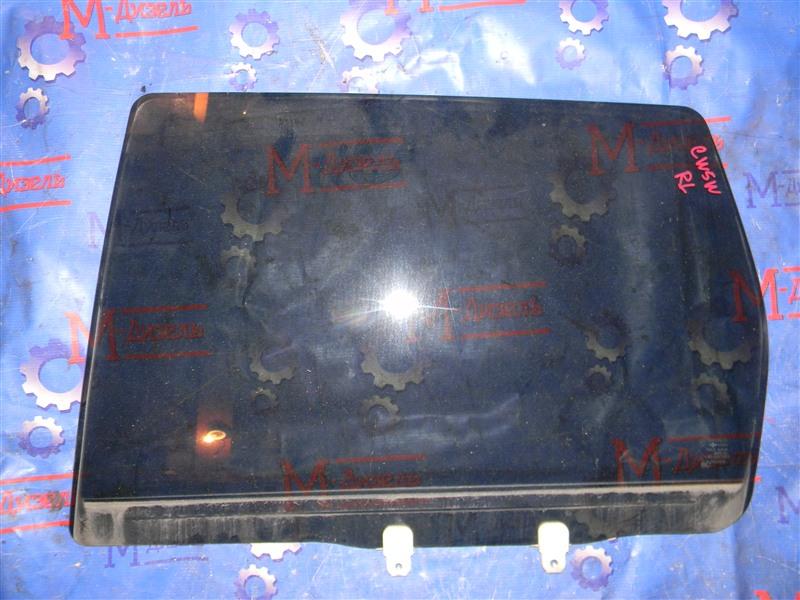 Стекло боковое Mitsubishi Outlander Xl CW5W 4B12 2005 заднее левое