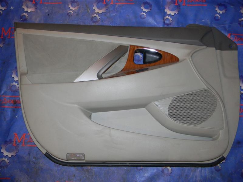 Обшивка двери Toyota Camry ACV40 2AZ-FE 2006 передняя левая
