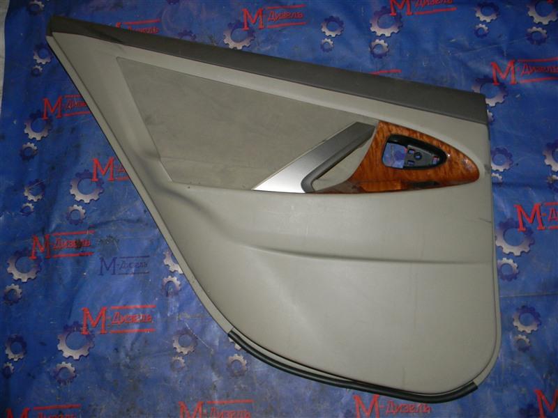 Обшивка двери Toyota Camry ACV40 2AZ-FE 2006 задняя левая