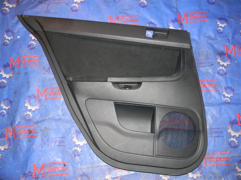 Обшивка двери Mitsubishi Lancer X CY4A 4B11 2008 задняя левая