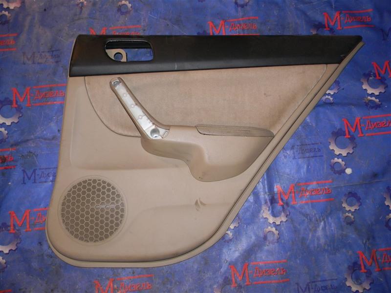 Обшивка двери Honda Accord CL7 K20A 2004 задняя правая