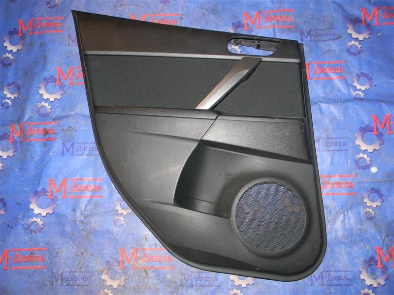 Обшивка двери Mazda Axela BLEFW LF-VDS 2010 задняя левая