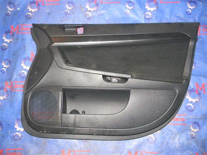 Обшивка двери Mitsubishi Lancer X CY4A 4B11 2008 передняя правая