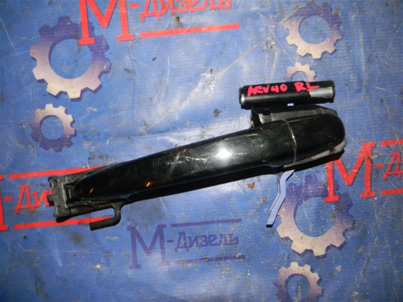 Ручка двери внешняя Toyota Camry ACV40 2AZ-FE 2006 задняя левая