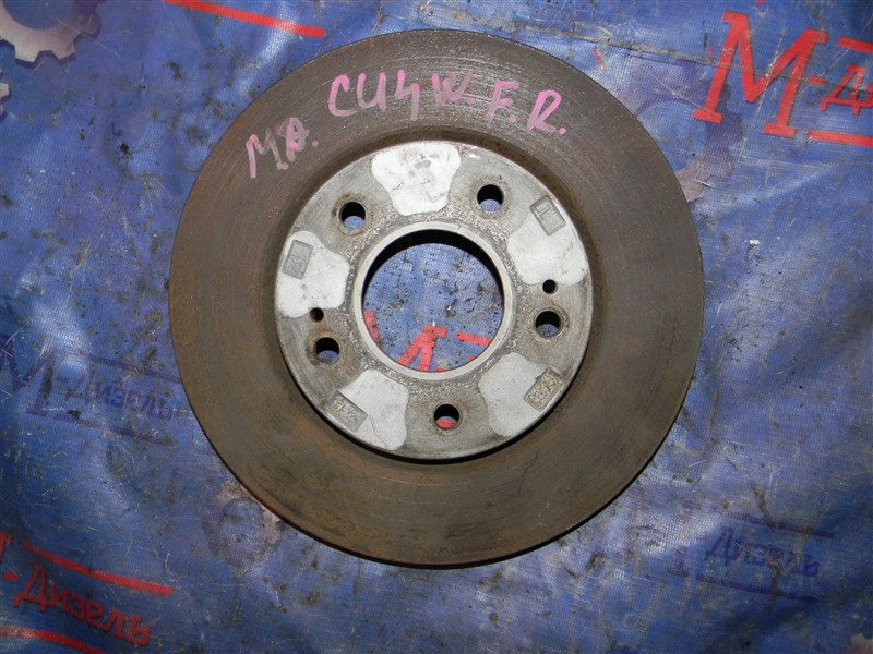 Диск тормозной Mitsubishi Airtrek CU4W 4G64 2003 передний