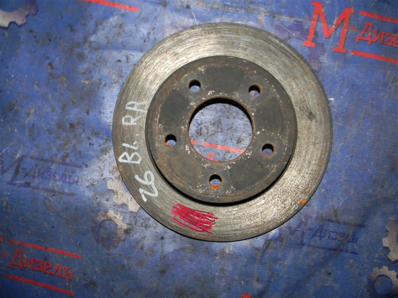 Диск тормозной Mazda Mazda 3 BL5 Z6 2009 задний правый