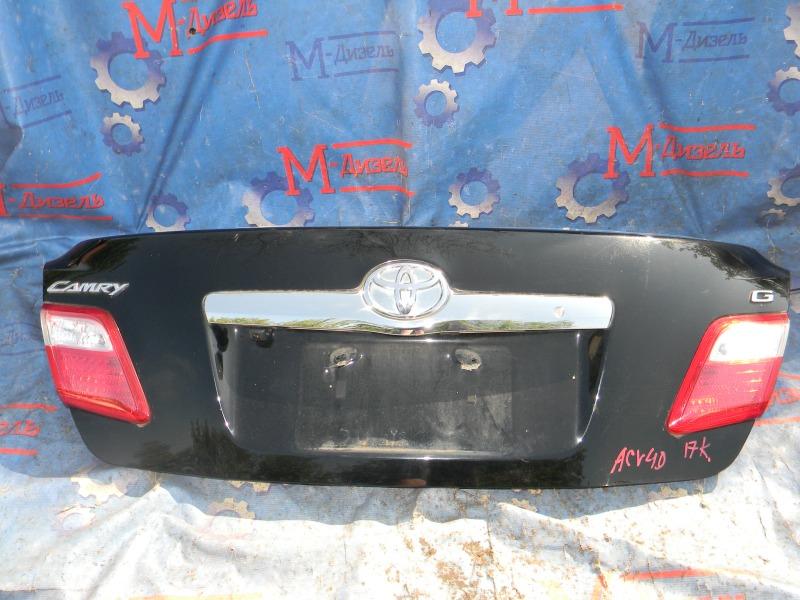 Крышка багажника Toyota Camry ACV40 2AZ-FE 2009