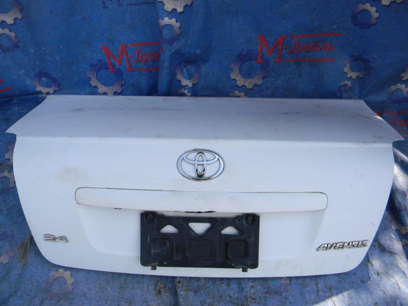Крышка багажника Toyota Avensis AZT251 2AZ-FSE 2007