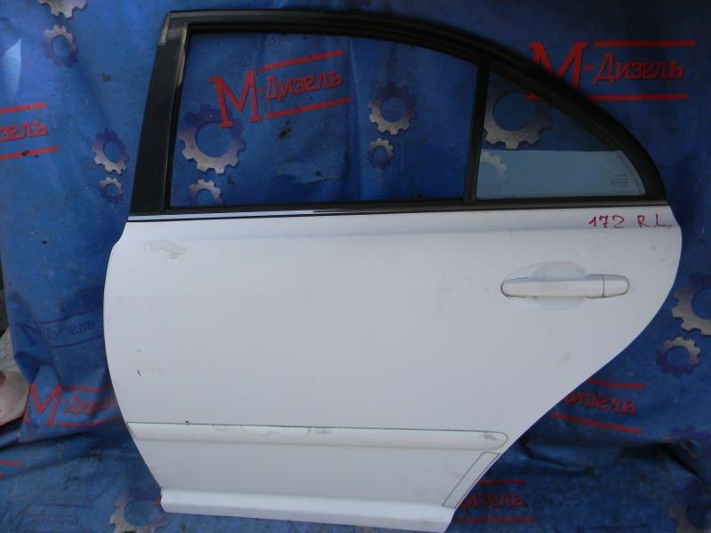 Дверь боковая Toyota Avensis AZT251 2AZ-FSE 2007 задняя левая